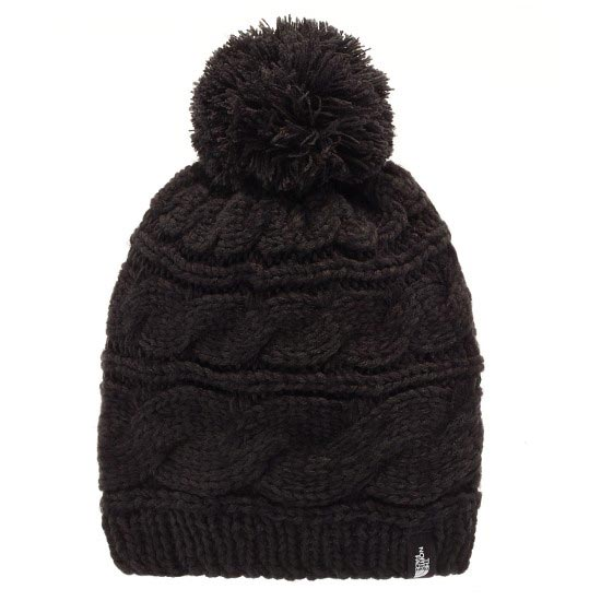The North Face Triple Cable Pom Beanie - TNF black