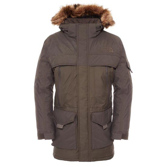 The North Face McMurdo Parka 2 - Black Ink Green
