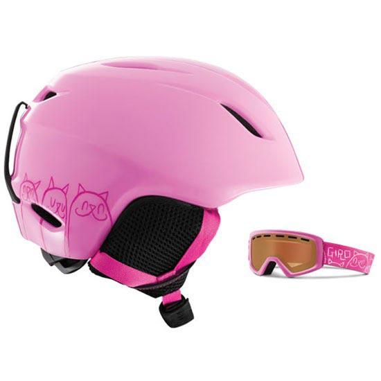 Giro LAUNCH CP LT PNK CATS WE - Pink Cats