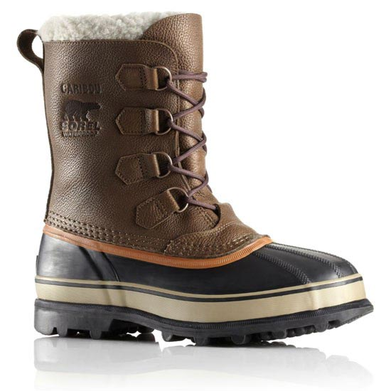 Sorel Caribou Wool - Olive brown/Dark ginger