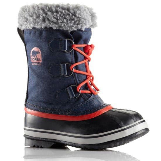 Sorel Yoot Jr - Collegiate Navy/Sail Red