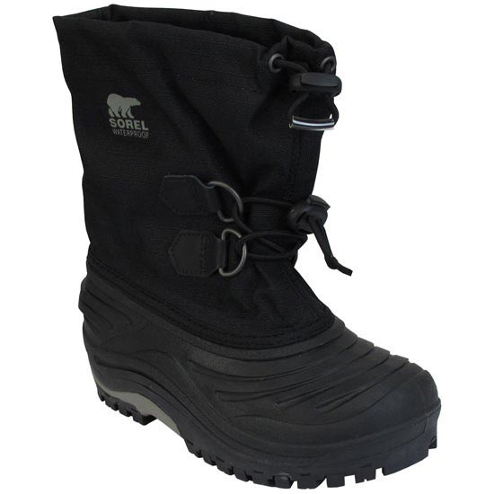 Sorel Super Trooper - Black/Light Grey