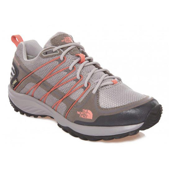 The North Face Litewave Explore Gtx W - Q-Silver Grey/Radiant Orange