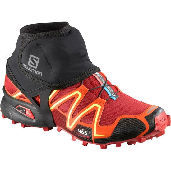 Salomon Trail gaiters Low - Noir