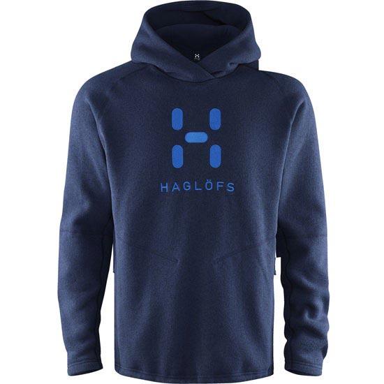 Haglöfs Swook Logo Hood - Deep Blue