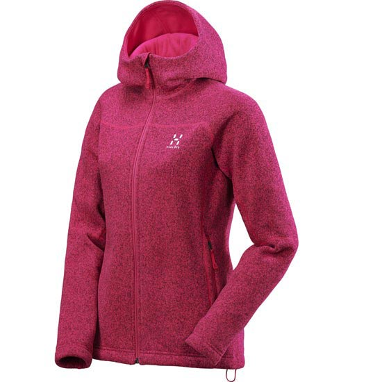 Haglöfs Swook Q Hood W - Volcanic Pink/Solid