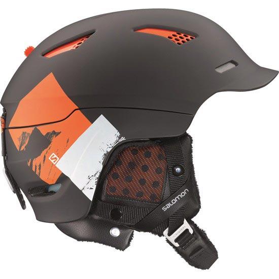 Salomon Prophet  Custom Air - Black Matt/Orange