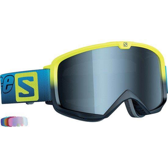 Salomon X Race Lab + 5 Lenses All Weather - Bleu / Jaune