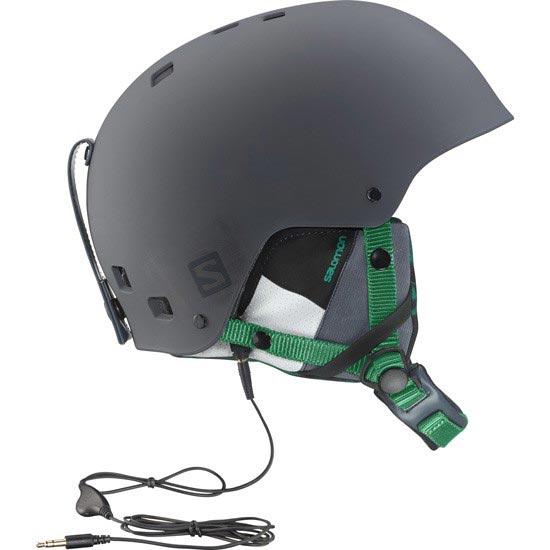 Salomon Brigade Audio - Grey/Forest Green