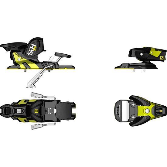 Salomon STH2 WTR 13 Black/Yellow -