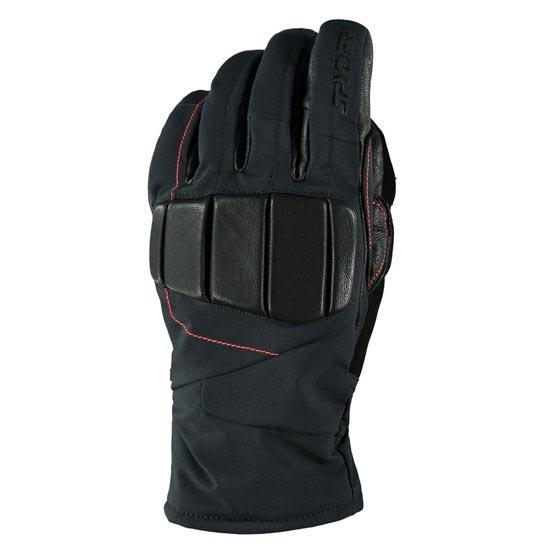 Spyder Alpha Ski Glove - Black/Volcano
