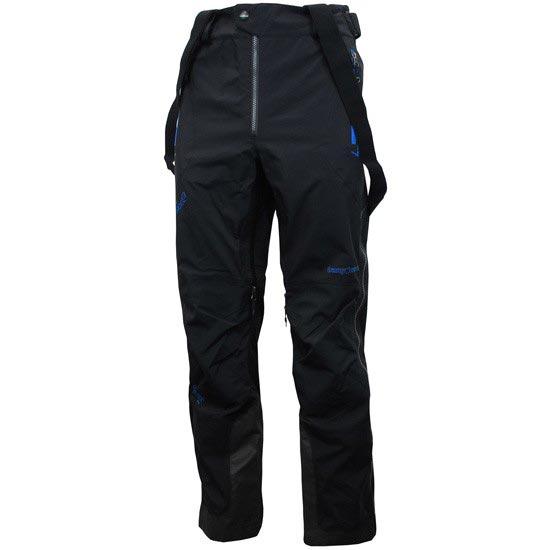 Trangoworld Trx2 Shell Pant - Negro/Azul