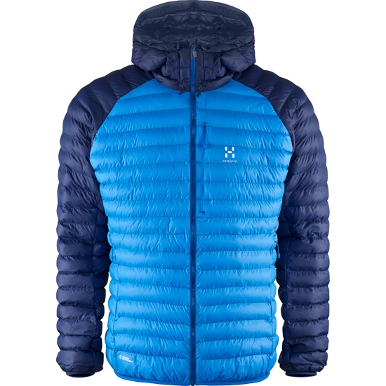 Haglöfs Essens Mimic Hood - Vibrant Blue/Hurricane Blue