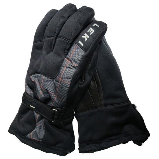 Leki Hs Active S Gtx Ski Glove - Black/Grey