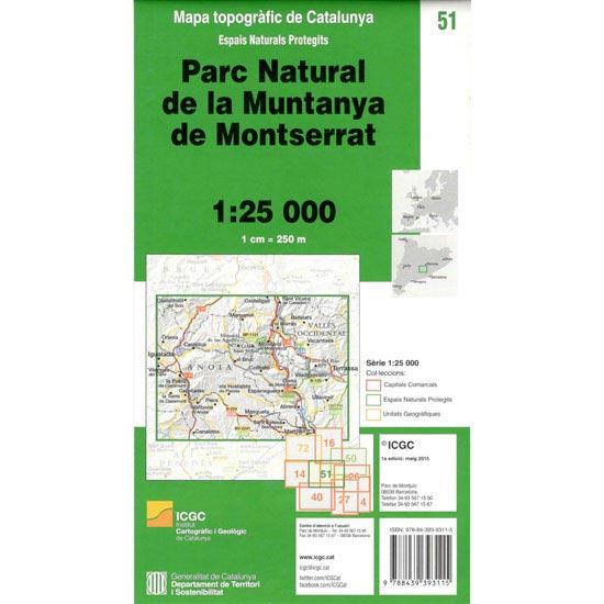 Icc (catalunya) Espais naturals de Monserrat -