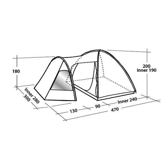 Easy Camp Eclipse 500 - Photo de détail