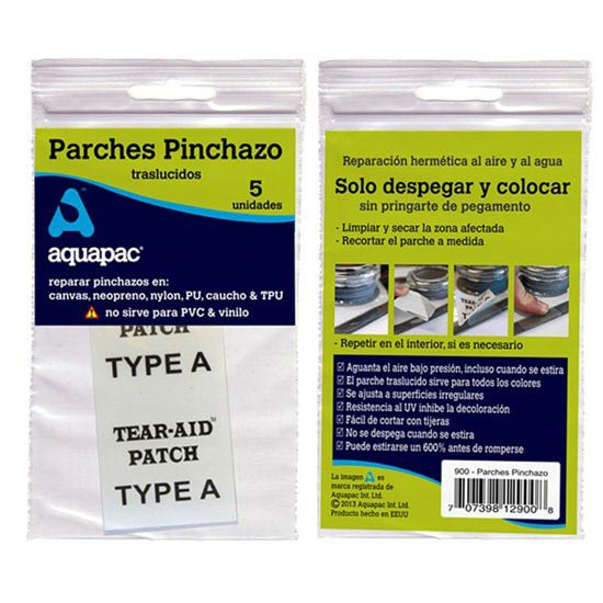 Aquapac Puncture Patches - for TPU -