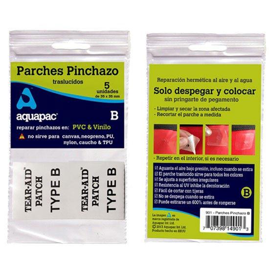 Aquapac Parches para PVC y Vinilo -
