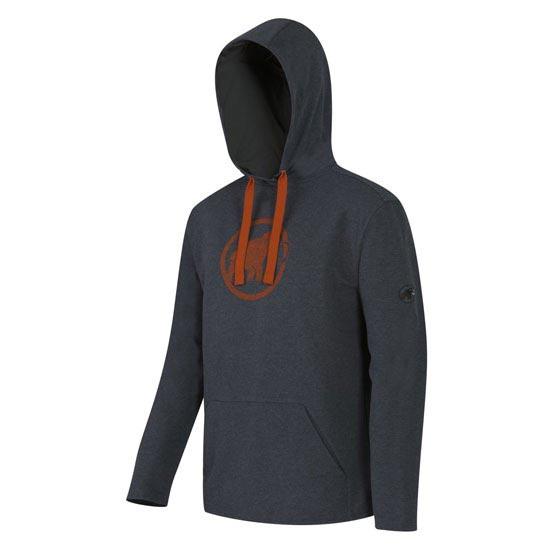 Mammut Logo ML Hoody - Graphite/Dark Orange
