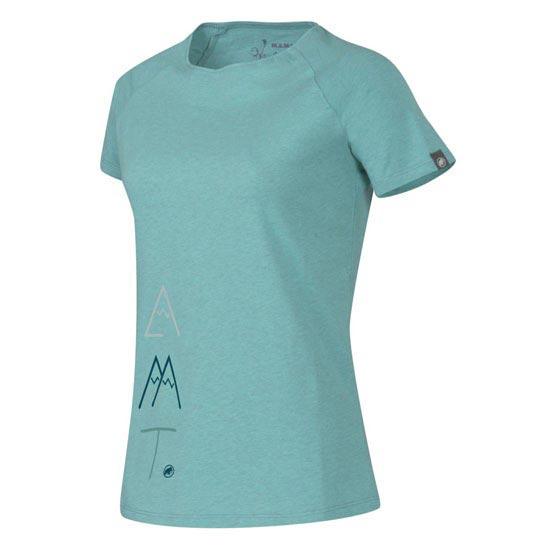 Mammut Meteora T-Shirt W - Fiji Mélange