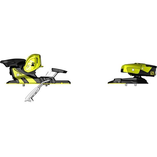 Salomon T STH2 WTR 16 Yellow/Black - Photo de détail