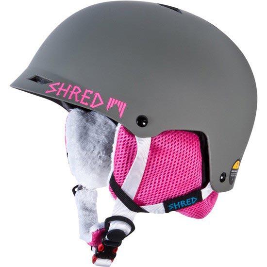 Shred Half Brain Bunny - Gray/Pink