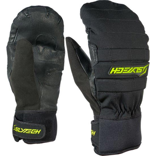 Slytech Fortress Park  Mitts - Black/Yellow