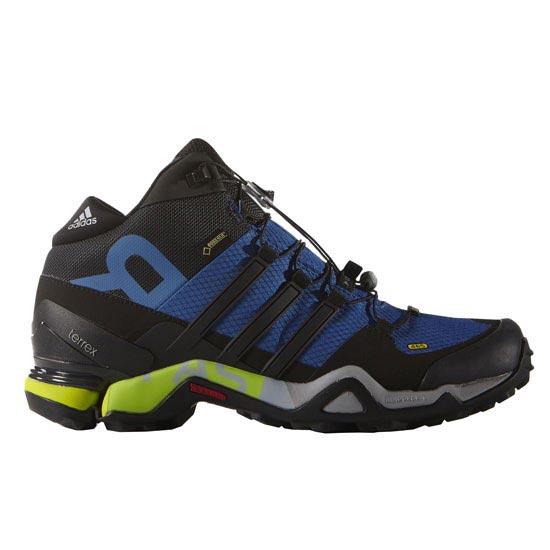 sports shoes eaa8d a0af0 botas adidas terrex gtx hombre,Hombre Botas adidas Terrex Fast R Mid GTX  Azul Beauty Negro Amarillo
