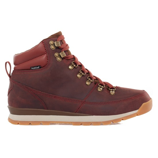 The North Face Back-To-Berkeley Redux Leather - Brick House Red/Desert Palm Brown
