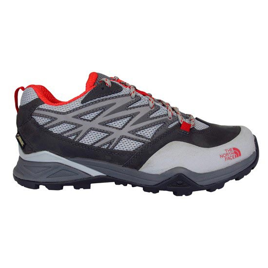 The North Face Hedgehog Hike GTX W - Dark Gull Grey/Tomato Red