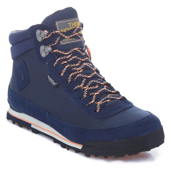 The North Face Back-To-Berkeley Boot II W - Cosmic Blue/Impact Orange