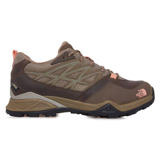 The North Face Hedgehog Hike GTX W - Cub Brown/Punch Orange