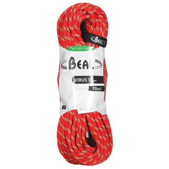 Beal Virus 10 mm x70 m - Rojo