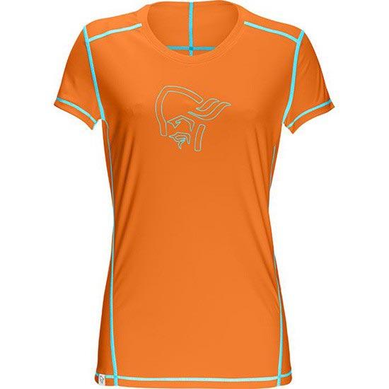 Norrona 29 Tech T-Shirt W - Pure Orange