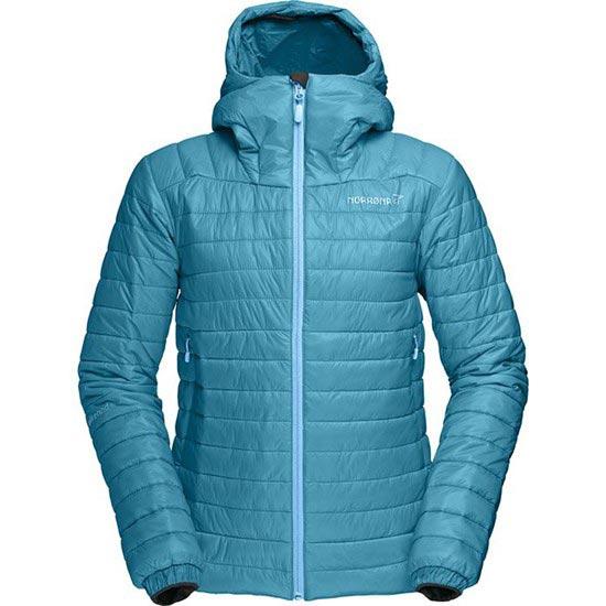 Norrona Falketind PrimaLoft100 Hood Jacket W - Iceberg Blue