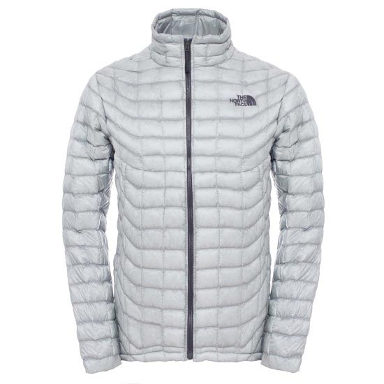 The North Face Thermoball Full Zip Jacket - High Rise Grey/Asphalt Grey