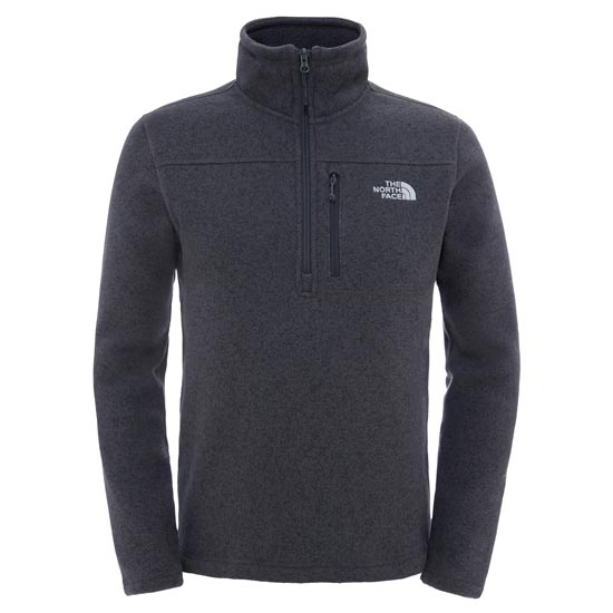 The North Face Gordon Lyons 1/4 Zip - Asphalt Grey Heather