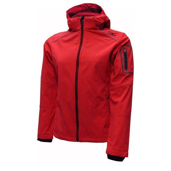 Campagnolo Softshell Zip Hood Jacket W - B467