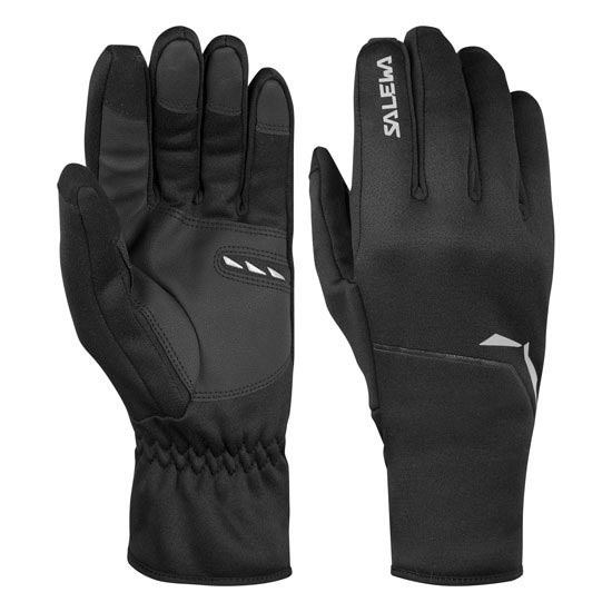 Salewa Sesvenna Polarlite Gloves - Black Out
