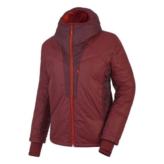 Salewa Ortles Primaloft Jacket W - Velvet Red