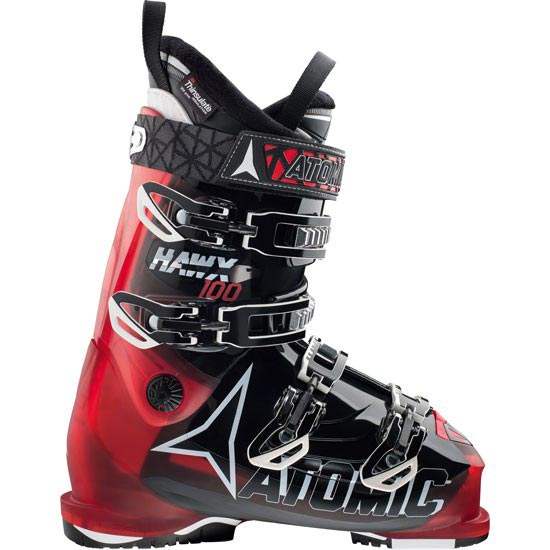Atomic Hawx 100 - Transparent Red/Black