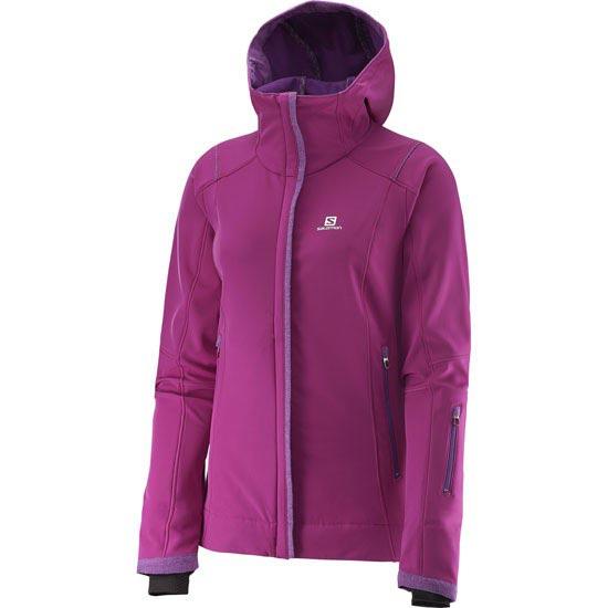 Salomon Snowcube Jacket W - Aster Purple