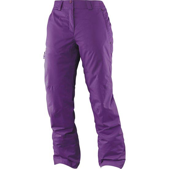 Salomon Reponse Pant W - Cosmic Purple