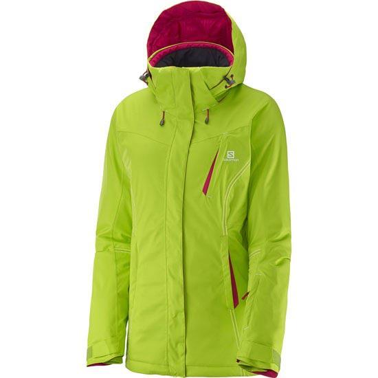 Salomon Enduro Jacket W - Granny Green