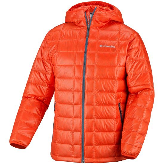 Columbia Trask Mountain 650 TurboDown Hooded Jkt - Spicy