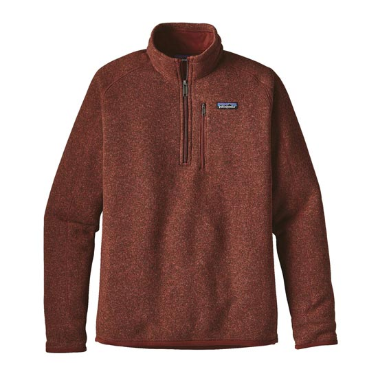 Patagonia Better Sweater 1/4 Zip - Cinder Red