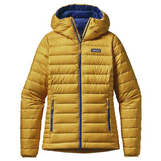 Patagonia Down Sweater Hoody W - Sulphur Yellow