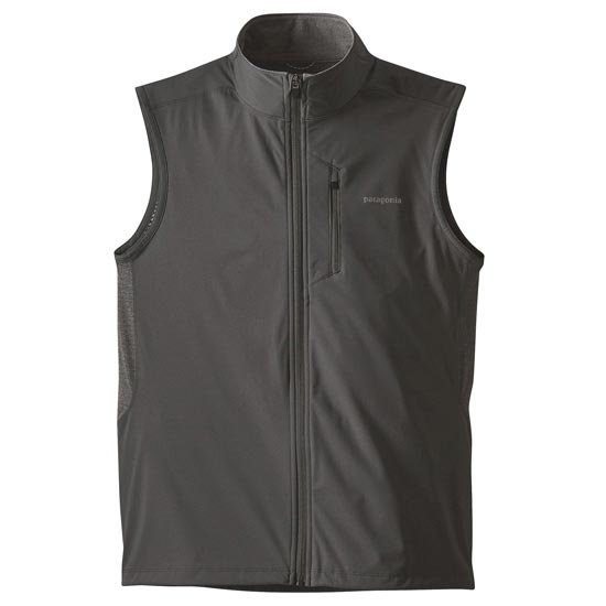 Patagonia Wind Shield Hybrid Sotfshell Vest - Forge Grey