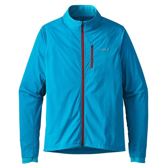 Patagonia Wind Shield Hybrid Softshell Jacket - Grecian Blue