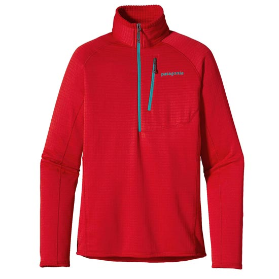 Patagonia R1 P/O W - French Red/Mogul Blue
